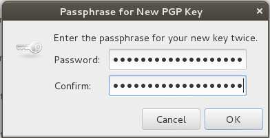 Choose a Strong Passphrase