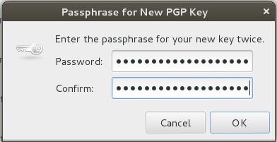 Choose a Strong Passphrase